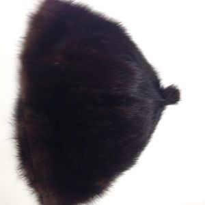 Mink hat by Siberian fur store Hong Kong
